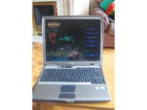 Dell Notebook Latitude D600 with Sxga Lcd Screen and WiFi ready.